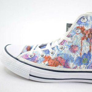 Converse Women Multi Color Floral Knit Shoes US 7